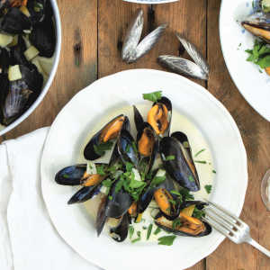 Mussels as in Normandy