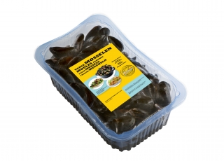 Selected by Prins & Dingemanse fresh rope culture mussels